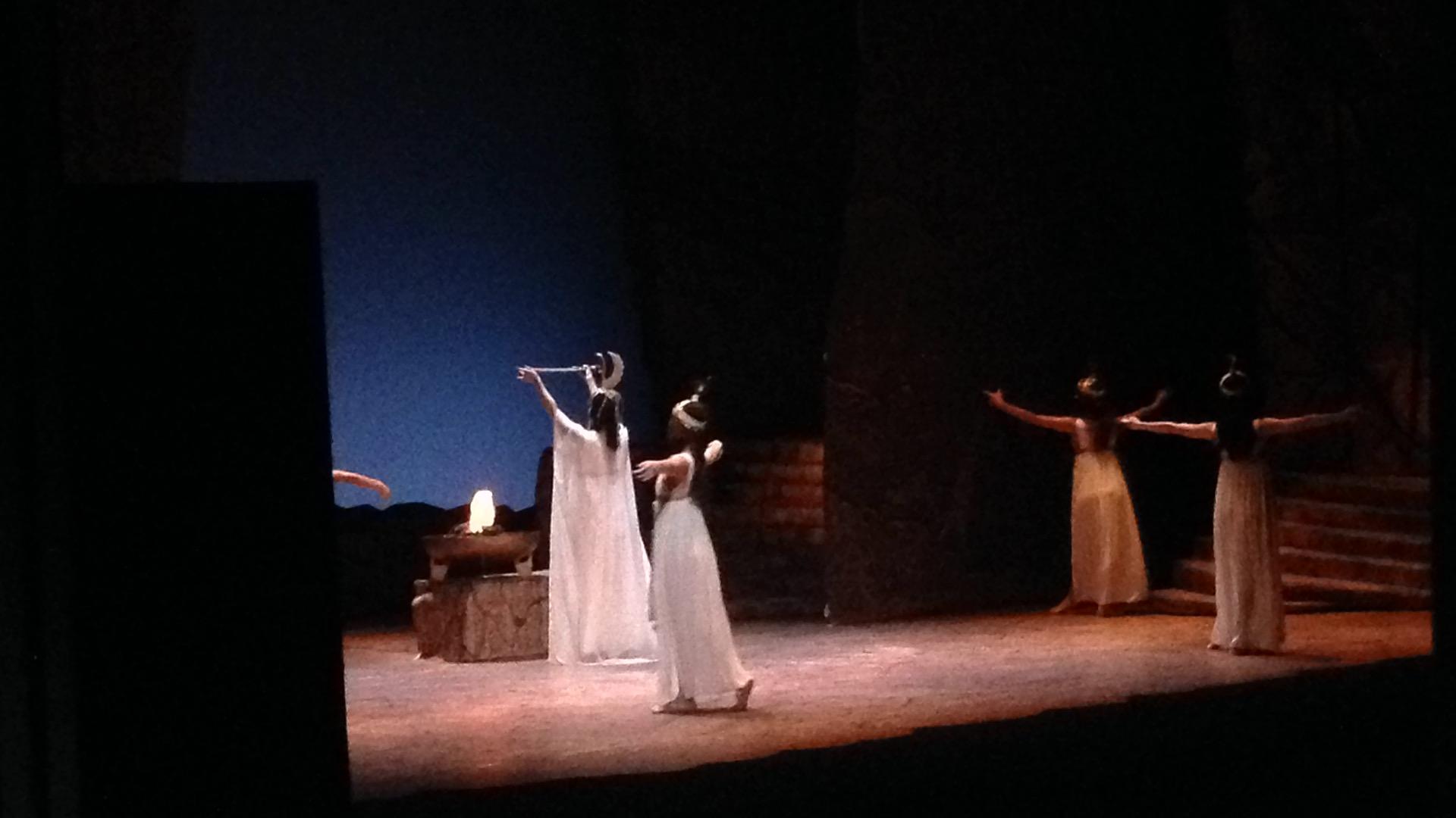 Sacerdotessa in Aida on Japan tour Oct 2014