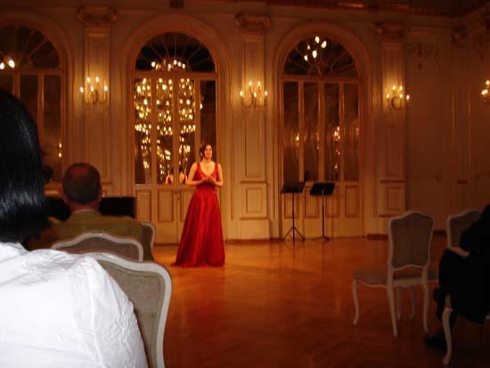 Concert in Kazina Hall, Maribor