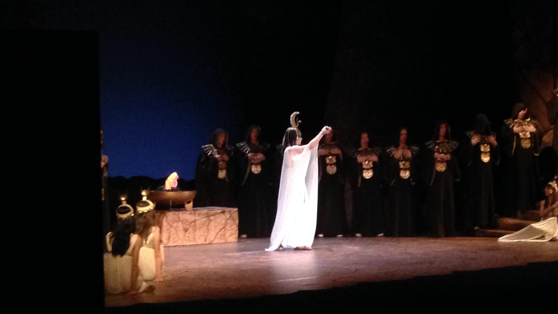 Sacerdotessa in Aida on Japan tour Oct 2014-2
