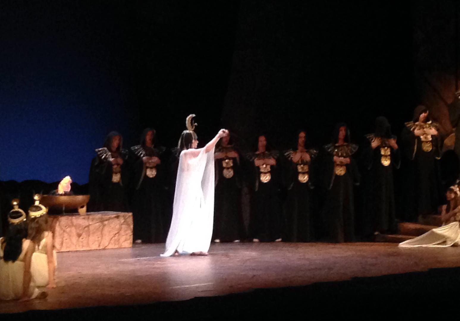 Sacerdotessa in Aida on Japan Tour