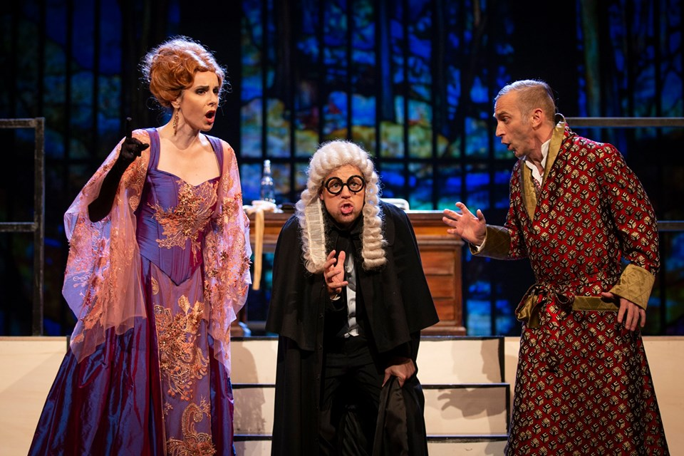 the trio from Act III
